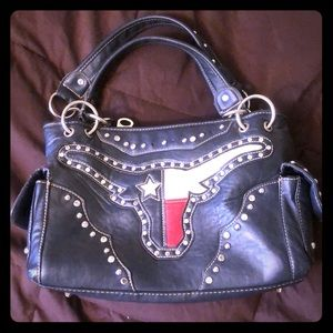 Montana west longhorn purse